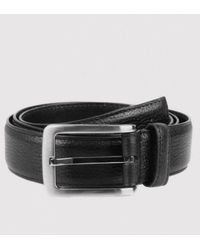 Dents | Textured Leather Belt | Lyst