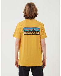 Patagonia - P-6 Logo Organic T-shirt - Lyst