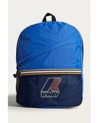K-Way - Blue Packable Backpack - Lyst