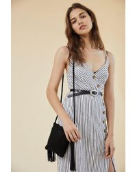 Urban Outfitters - Tassel Fringe Mini Crossbody Bag - Lyst