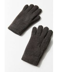 Urban Outfitters - Flat Knit Chenille-lined Glove - Lyst