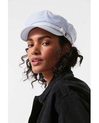 ec3b269ea3c Urban Outfitters · Brixton - + Uo Seersucker Fiddler Fisherman Hat - Lyst