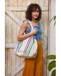 Urban Outfitters - Knotted Woven Bucket Tote Bag - Lyst