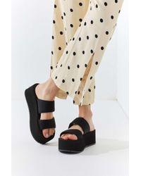 Urban Outfitters - Uo Ava Neoprene Platform Sandal - Lyst
