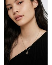 Urban Outfitters - Moon Pendant Necklace - Womens All - Lyst