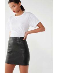 Urban Renewal - Vintage High-rise Leather Mini Skirt - Lyst
