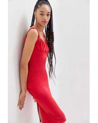 6fd263c0a5f6b Urban Outfitters Uo Melanie Button-down Midi Dress - Lyst