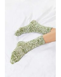 Out From Under - Essential Green Camp Sock - Lyst