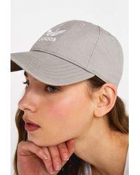 adidas Originals - Acid Wash Grey Baseball Cap - Womens All - Lyst