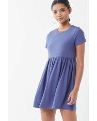 Urban Outfitters - Uo Alexa Babydoll T-shirt Dress - Lyst