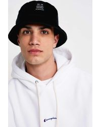 fe19c567fdc Urban Outfitters Uo Black Corduroy Bucket Hat - Mens All in Black ...