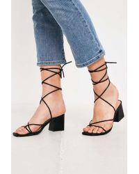 0fcdaeaefd9 Urban Outfitters - Uo Ana Strappy Heeled Sandals - Lyst