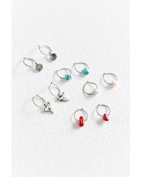 Urban Outfitters - Bermuda Hoop Earring Set - Lyst