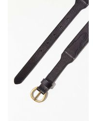 Urban Outfitters - Tapered Western Leather Belt - Lyst