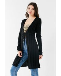 Urban Outfitters | Uo Flynn Away Tie Cardigan | Lyst
