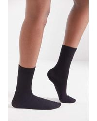 Out From Under - Flat Knit Crew Sock - Lyst