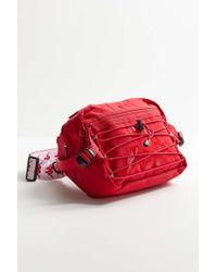e71ca4b2e85b Kappa - The Premium Fannypack In Dark Red And White - Lyst