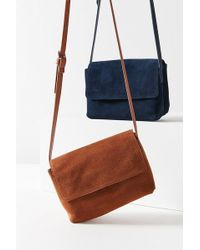 Urban Outfitters - Margot Suede Crossbody Bag - Lyst