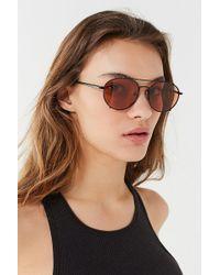 Quay - Quay Little J Aviator Sunglasses - Lyst