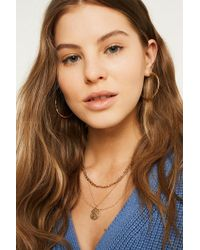 Urban Outfitters - Chunky Chain Necklace Set - Lyst