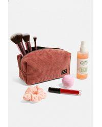 Urban Outfitters Kosmetiktasche aus Cord - Lila