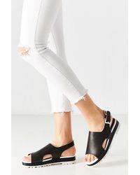 E8 - White Sandal - Lyst