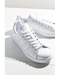 adidas originali originali stan smith - scarpe da ginnastica in bianco lyst