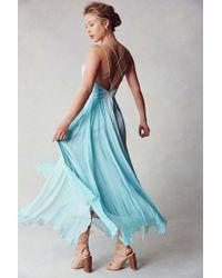 Kimchi Blue - Waterfall Chiffon Maxi Dress - Lyst