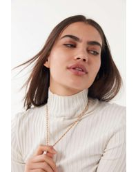 Urban Outfitters - Long Rope Chain Necklace - Lyst