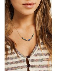 Urban Outfitters - Beaded Chain Necklace - Lyst