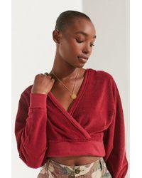 Urban Outfitters - Uo Sedona Surplice Hoodie Sweatshirt - Lyst