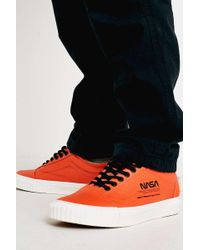 8273a08496b37b Vans - Old Skool Nasa Orange Trainers - Mens Uk 11 - Lyst