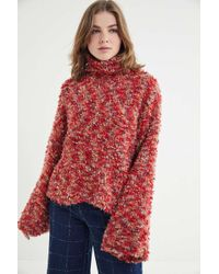 Urban Outfitters - Uo Fuzzy Turtleneck Sweater - Lyst