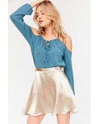 Kimchi Blue - Alessandra Cold Shoulder Sweater - Lyst