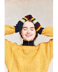 Urban Outfitters - Rainbow Mittens - Lyst