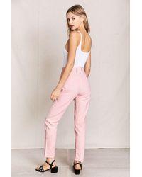 Urban Renewal - Vintage Guess Pink Jean - Lyst