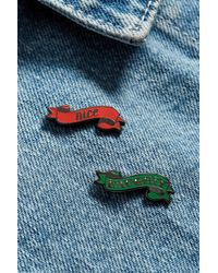Urban Outfitters - Pintrill Naughty Or Nice Pin Pack - Lyst
