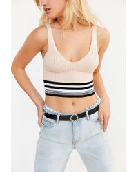 BDG | Max Banded Stripe Tank Top | Lyst
