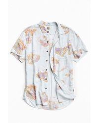 Insight - Trigger Rayon Short Sleeve Button-down Shirt - Lyst