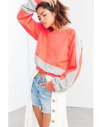 Without Walls - Catie Color Block Crew-neck Sweatshirt - Lyst