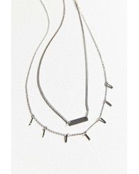 Urban Outfitters - Luxe Layering Necklace Set - Womens All - Lyst