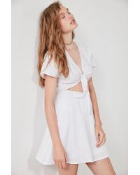 Sir. The Label - Elsa Tie-front Linen Dress - Lyst
