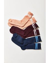 Converse - Double Stripe Crew Sock 3 Pack - Lyst