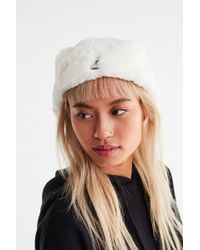 Kangol - Faux Fur Cabbie Hat - Lyst