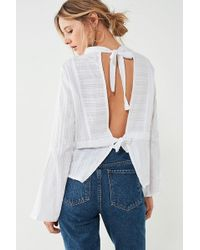 Sir. The Label - Anais Backless Blouse - Lyst