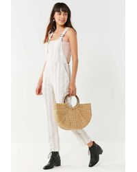 Nice Martin - Raven Striped Overall Jumpsuit - Lyst