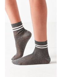 Out From Under - Glitter Sport Sock - Lyst