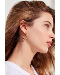 Urban Outfitters - Essential Hoop Earring - Lyst