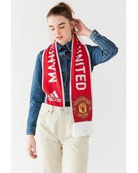 adidas Originals - Manchester United Soccer Scarf - Lyst