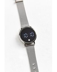 Urban Outfitters - Mesh Band Digital Watch - Lyst